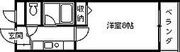 プレステージフジ西宮壱番館[207号室]の間取り