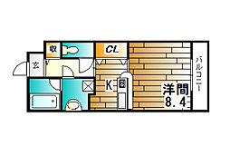 クラスト30[302号室]の間取り