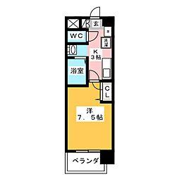 ASレジデンス千代田[6階]の間取り
