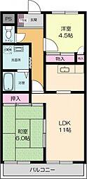 オーキッドマンション[103号室号室]の間取り