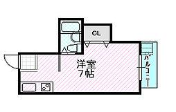 マンションジュライ[5階]の間取り