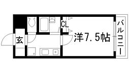 パレスブルート[2階]の間取り