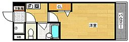 プルメリア玉出[10階]の間取り