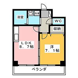 Success 1[5階]の間取り