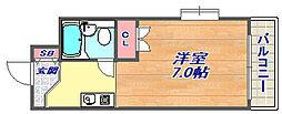 メゾン・ド・六甲パート5[404号室]の間取り