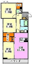 仮)駿河台2丁目シャーメゾン[206号室]の間取り