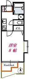 ルナアイワン[102号室]の間取り
