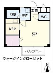 ライネスカーサ[2階]の間取り