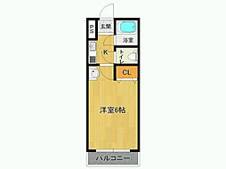 ステラハウス18[2階]の間取り