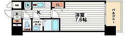 プレサンス松屋町駅前デュオ[12階]の間取り