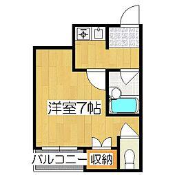 N・エステートモア三条[4階]の間取り