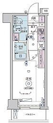 リヴシティ横濱インサイトII[2階]の間取り