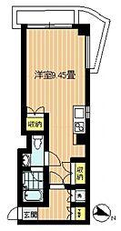 リゾート南馬込[203号室号室]の間取り
