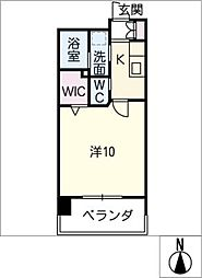 仮)則武二丁目マンション[7階]の間取り
