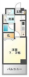 ファーストステージ江坂広芝町II[5階]の間取り