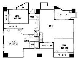 1フロア1邸の最上階マンション北堀江