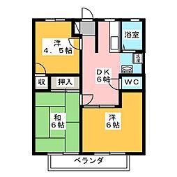 リバーサイド池田[2階]の間取り