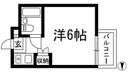 ハイツ甲東PART2[1階]の間取り