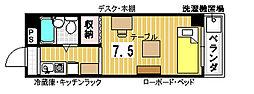 ポートリジェール78[102号室]の間取り