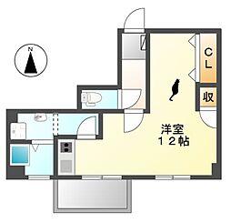 ナゴヤマンション今池[3階]の間取り
