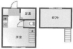 アーバンプレイス新高円寺[202号室号室]の間取り