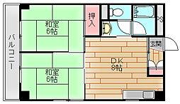 シティスミノエ[3階]の間取り
