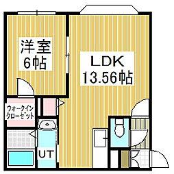 IMKハウス[1階]の間取り