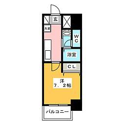 チェルトヴィータ[7階]の間取り