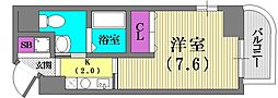 クレアール神戸[3階]の間取り