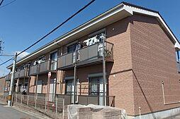 愛知県岡崎市北野町字畔北の賃貸アパートの外観