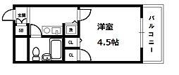 トーカン東淀川キャステール[7階]の間取り