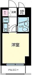 クリオ阪東橋壱番館[7階]の間取り