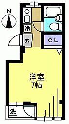 第3ハイムトシマ[202kk号室]の間取り