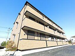千葉県四街道市もねの里1丁目の賃貸アパートの外観