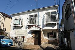 東京都清瀬市野塩3丁目の賃貸アパートの外観