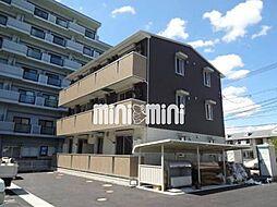 岡山県岡山市中区清水1丁目の賃貸アパートの外観