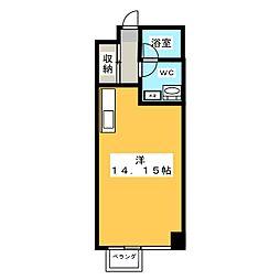 ドムス・ミネルヴァ[4階]の間取り