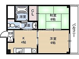 第3渡部ビル[4階]の間取り