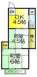 泉マンション[3階]の間取り