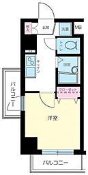 プレール・ドゥーク高円寺[203号室号室]の間取り
