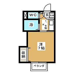 Access−I[1階]の間取り