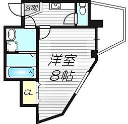 ETC清水駅前[9階]の間取り
