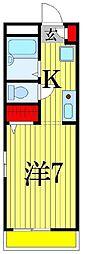 Maison SAKURA[106号室]の間取り