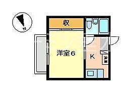 シーサイド西舞子B[2階]の間取り