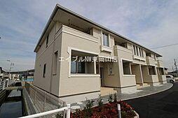 岡山県岡山市中区高島新屋敷丁目なしの賃貸アパートの外観