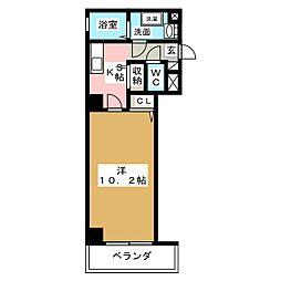 アニューファンロイヤルス[6階]の間取り