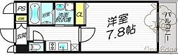 レジュールアッシュプレミアムツインI[9階]の間取り