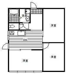 [一戸建] 千葉県香取市佐原ロ の賃貸【/】の間取り