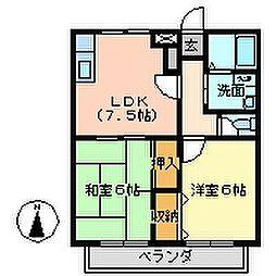 エーレ67[20号室号室]の間取り