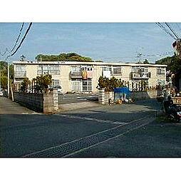 福岡県中間市大辻町の賃貸アパートの外観